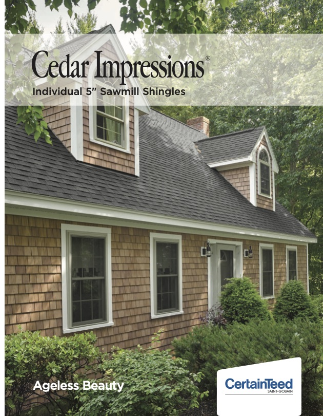 Certainteed Cedar Impressions Capital Forest Products
