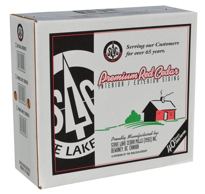 "Box 18"" #1 R&R Natural Stave Lake"